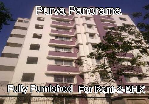 Posh 2bHK-flat for rent at -Purva Panorama- in Bannerghatta Road-Bangalore